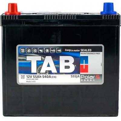 Аккумулятор 55 Ah/12V TAB Polar S (1) Japan TAB 246755