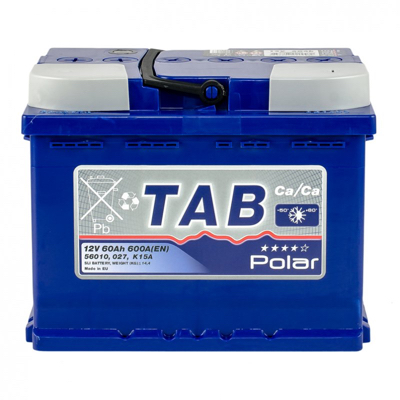 Аккумулятор 60 Ah/12V TAB Polar Blue (0) Euro TAB 121060