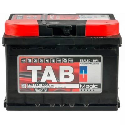 Аккумулятор 62 Ah/12V TAB Magic (0) Euro TAB 189063