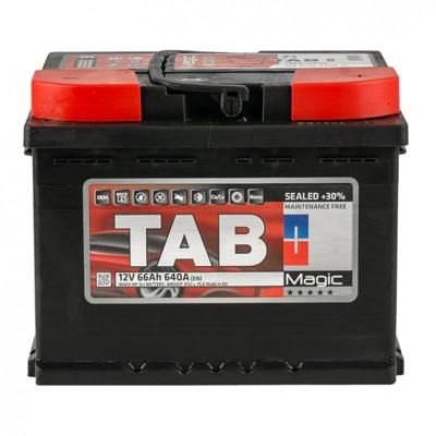 Аккумулятор 66 Ah/12V TAB Magic (0) Euro TAB 189065