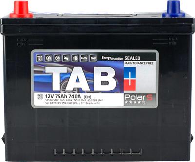 Аккумулятор 75 Ah/12V TAB Polar S (1) Japan TAB 246775