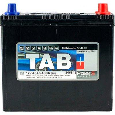 Аккумулятор 45 Ah/12V TAB Polar S (0) Euro Japan TAB 246845