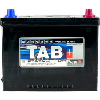 Аккумулятор 70 Ah/12V TAB Polar S (0) Euro Japan TAB 246870