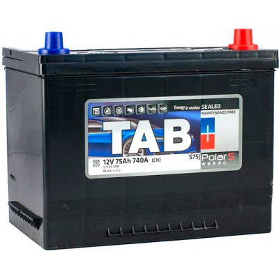 Аккумулятор 75 Ah/12V TAB Polar S (0) Euro Japan TAB 246875