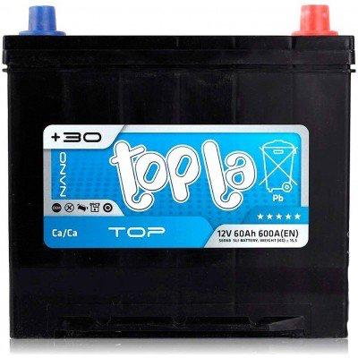 Аккумулятор 60Ah/12V Top/Energy Japan Euro (0) Topla 118860