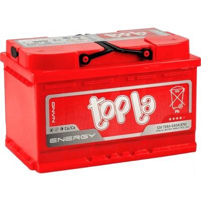 Аккумулятор 73Ah/12V Energy Euro (0) Topla 108073