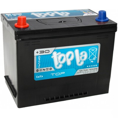 Аккумулятор 75Ah/12V Top/Energy Japan (1) Topla 118975