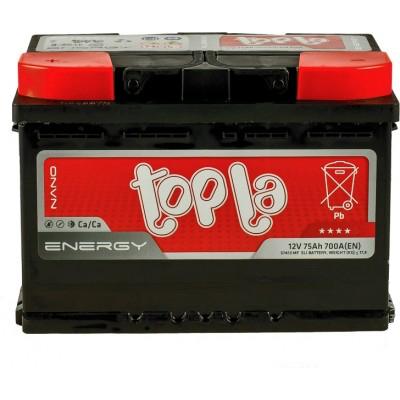 Аккумулятор 75Ah/12V Energy (1) Topla 108375