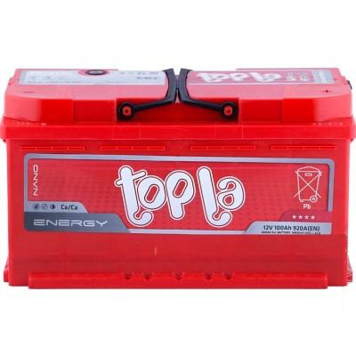 Аккумулятор 100Ah/12V Energy Euro (0) Topla 108400