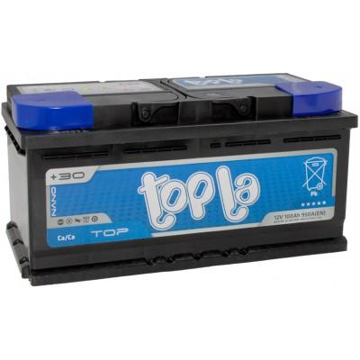 Аккумулятор 100 Ah/12V TOP Euro (0) Topla 118600