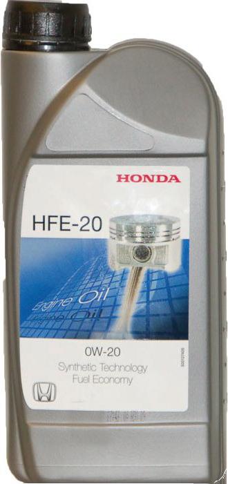 Масло моторное синтетическое HFE-20 0W-20, 1л Honda 08232P99C1HMR