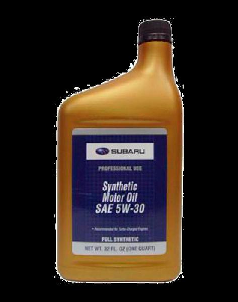Масло моторное синтетическое Synthetic oil 5w-30, 1л Subaru SOA427V1410