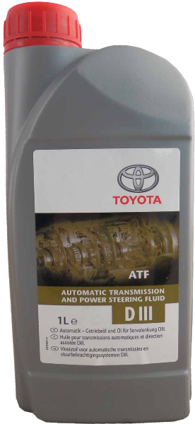 Масло трансмиссионное DEXRON III, 1л Toyota 0888680506