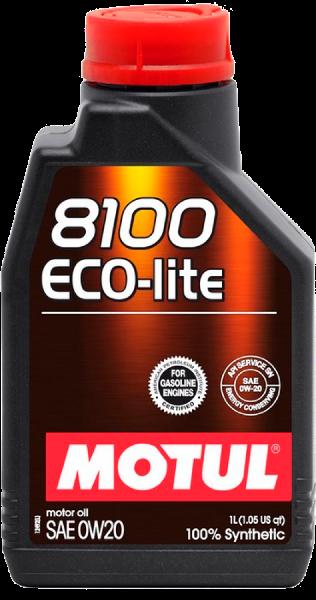 MOTUL - 841111 Масло моторное синтетическое 8100 ECO-LITE 0W20, 1л