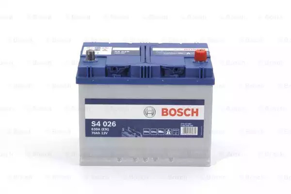 Bosch - 0092S40260 Аккумулятор S4 ASIA ПРАВ [+] 12V 70AH 630A 261*175*220