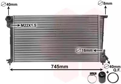 Van Wezel - 09002153 Радиатор