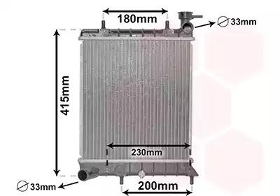 Van Wezel - 82002085 Радиатор