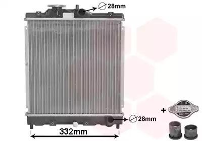 Van Wezel - 25002031 Радиатор
