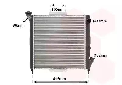 Van Wezel - 43002063 Радиатор