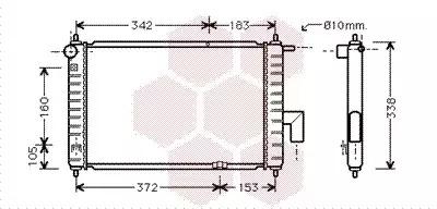 Van Wezel - 81002046 Радиатор