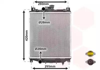 Van Wezel - 52002059 Радиатор