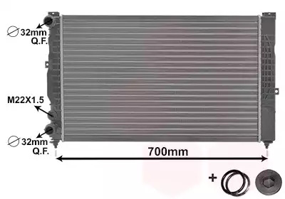 Van Wezel - 03002123 Радиатор
