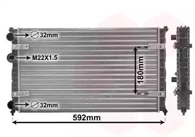 Van Wezel - 49002023 Радиатор