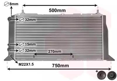 Van Wezel - 03002026 Радиатор