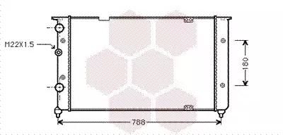 Van Wezel - 58002103 Радиатор