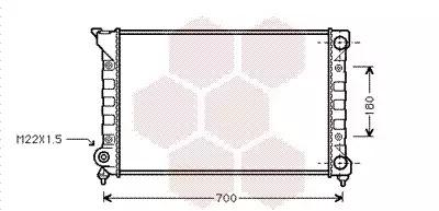 Van Wezel - 58002072 Радиатор