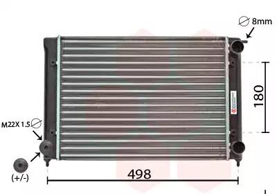 Van Wezel - 58002040 Радиатор