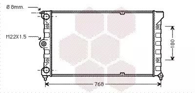 Van Wezel - 58002037 Радиатор