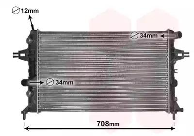 Van Wezel - 37002254 Радиатор