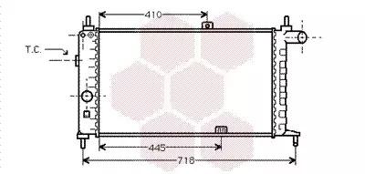 Van Wezel - 37002066 Радиатор