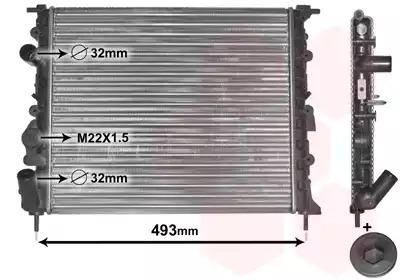 Van Wezel - 43002197 Радиатор