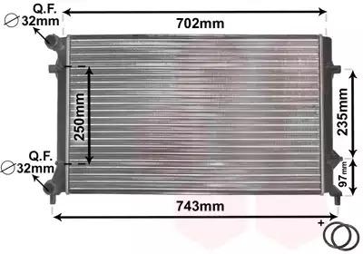Van Wezel - 58002204 Радиатор