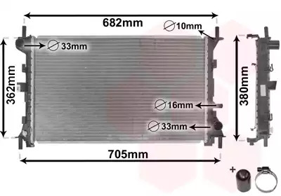 Van Wezel - 18002264 Радиатор