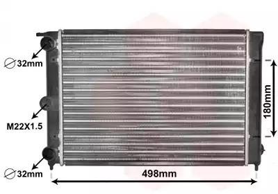 Van Wezel - 58002039 Радиатор