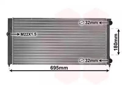 Van Wezel - 58002109 Радиатор