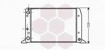 Van Wezel - 03002028 Радиатор