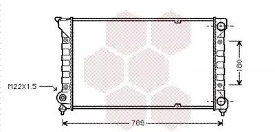 Van Wezel - 58002066 Радиатор