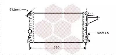 Van Wezel - 37002161 Радиатор