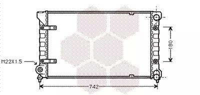 Van Wezel - 49002009 Радиатор