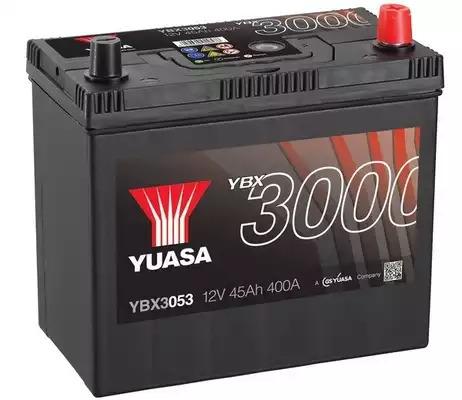 YUASA - YBX3053 Аккумулятор ПРАВ [+] 12V 45AH 400A 238*129*223